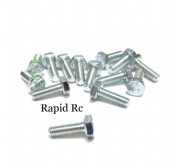 M4 x 12mm Hex Head High Tensile Hex Bolts